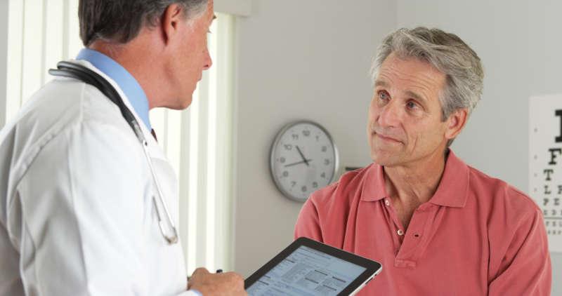 Discussing cornea health