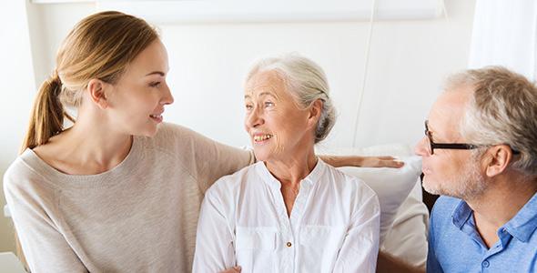 Helping Elderly Parents Get Through Cataract Surgery