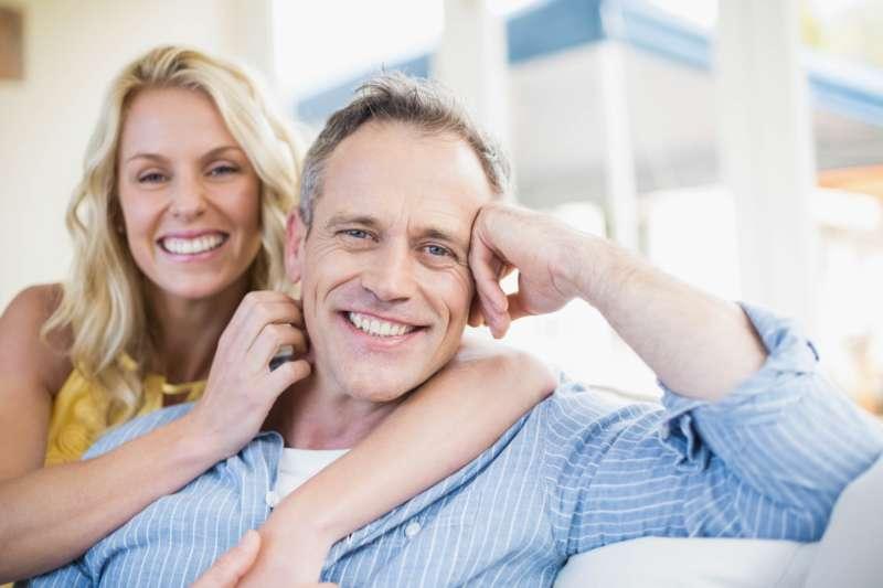 Satisfied LASIK couple