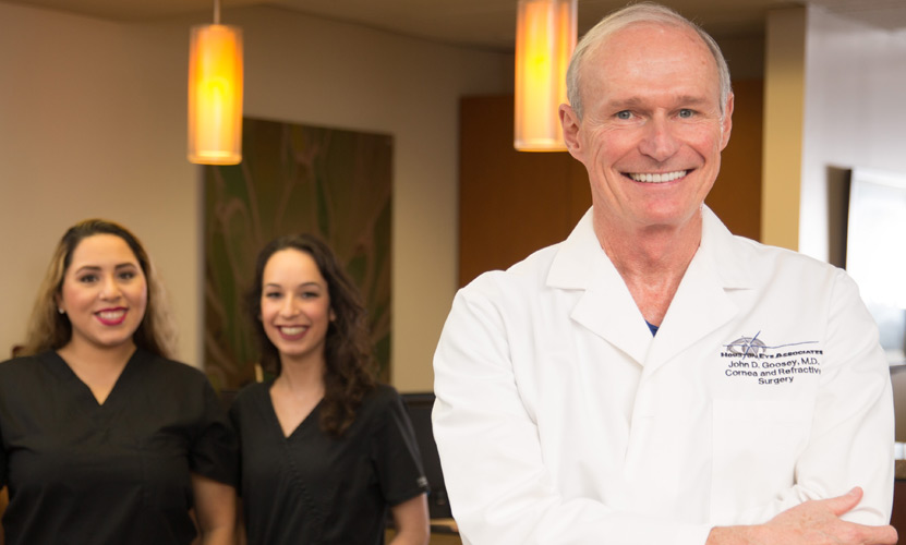 Houston Doctor Leads in LASIK